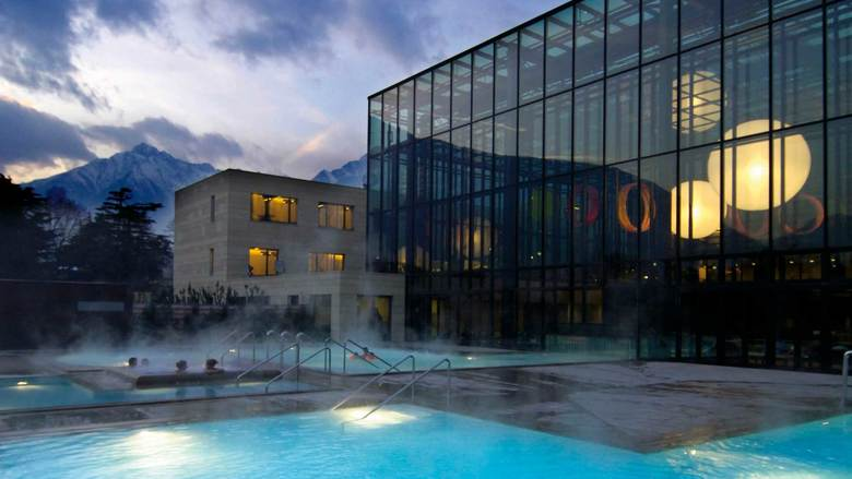 Merano thermal baths